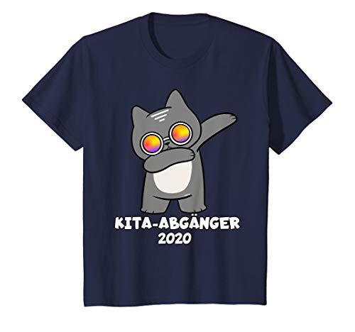 Katze Variationen Kostüm - Kinder KITA Abgänger 2020 T-Shirt Schulanfang Einschulung Katze