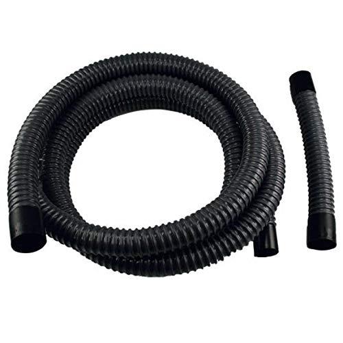 Reich Abwasser Entsorgungs-Set Schlauch, schwarz, Länge 3m, Innen Ø ca. 25 mm