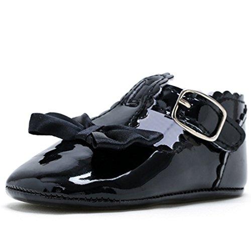 Belsen Recém-nascido De Moda Bebê Menina Linda Princesa Sapatos De Fundo Suave Criança Negra