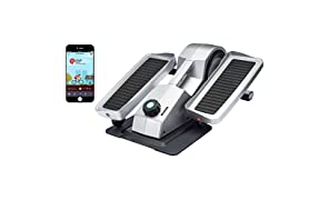 Cubii Under Desk Elliptical, Bluetooth Enabled, Sync w/FitBit and HealthKit, Adjustable Resistance, Easy Assembly