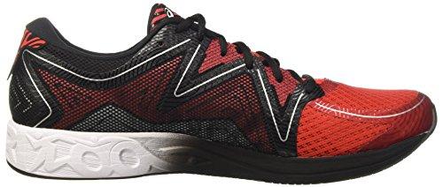 Asics Noosa Ff, Chaussures de Tennis Homme Blanc Cassé (Vermilion/white/black)
