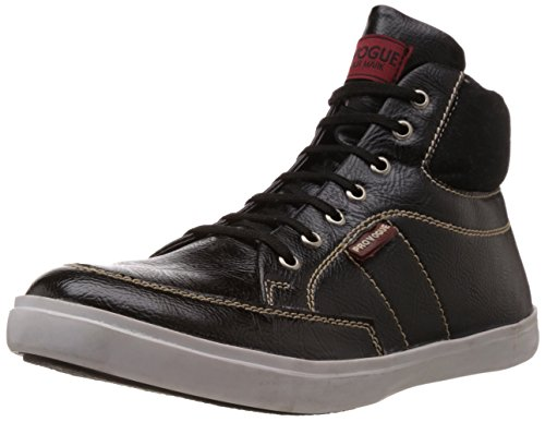 Provogue Men's Black Sneakers – 10 UK 41D xRVEoKL