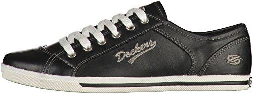 Dockers by Gerli 27CH221-620670, Chaussures de sports extérieurs femme Noir