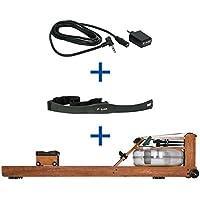 Preisvergleich für WaterRower Rudergerät Kirsche, inkl. S4 MonitorEmpfänger und Brustgurt T31