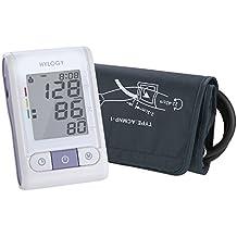 Hylogy Tensiómetro de Brazo Automático Digital y Pantalla Grande, 2 * 120 Memorias