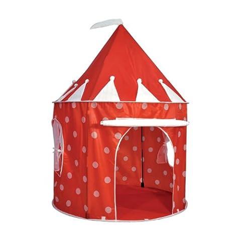 Esprit d'Air enfants Royaume pop-up pois rouges jouer tente