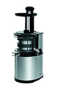 Unterschied Zwischen Slow Juicer And Entsafter : Amazon.de: CASO SJ200 Design Entsafter, Slow Juicer fur schonendes und sanftes entsaften von ...