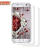 NONZERS Vetro temperato per Samsung Galaxy S7, [2 Pezzi] Cover 3D Completa Durezza 9H Ultra-Trasparente Anti-Olio, Graffi e Impronte digitali Pellicola Protettiva Senza Bolle