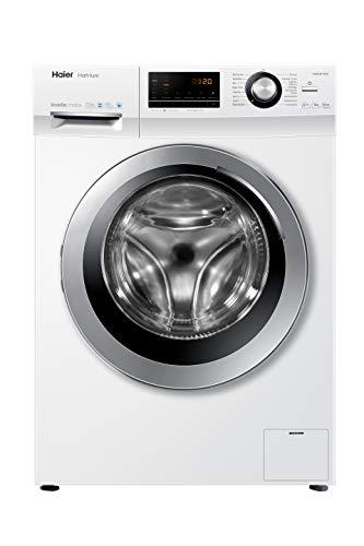 Haier HW90-BP14636 Waschmaschine Frontlader / 9 kg/A+++ / 121 kWh / 1.400 UpM/Steam (Dampffunktion) / AquaProtect
