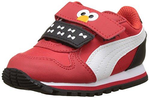 Puma Unisex-Kinder Sesame Str ST Runner Elmo Hoc V Inf Low-Top, Rot (High Risk Red White 01), 20 (Elmo Kids Hat)