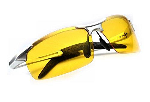 Blendfreie Polarisierte Sonnenbrille modische Design-Brille für Männer, Frauen Night Vision Brillen Dedicated Treiber fahren GL @ ktwp8177yh (Bridge-treiber)