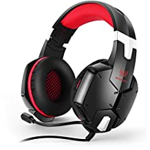 Kotion Each G1200 Gaming Headphones with Mic (Black/Red)