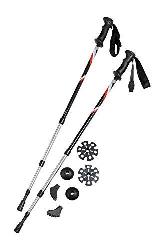 41D039Z7aWL - Pair of Trekrite Active Antishock Power Walking Poles/Hiking Sticks UK Brand