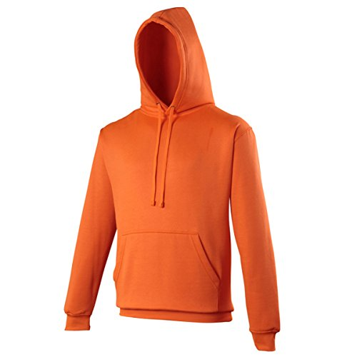 Electric hoodie Electric AWDis Hoods Streetwear Felpa Cappuccio Uomo Electric Orange
