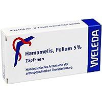 Hamamelis Folium 5% Zäpfchen,10St preisvergleich bei billige-tabletten.eu