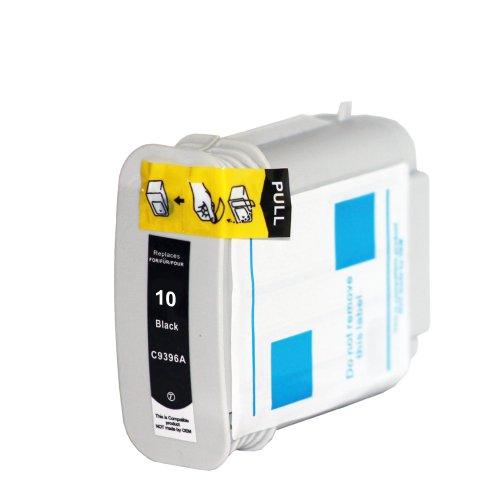 Premium Kompatible Tintenpatrone Als Ersatz für Hp 10 XL Druckerpatrone Schwarz Black BK (Patrone Hp Inkjet-drucker 19)