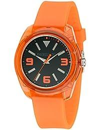 Morellato Time - R0151101012 - Montre Mixte - Quartz - Analogique - Bracelet Silicone orange