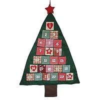 Large Fabric Christmas Tree Advent Calendar