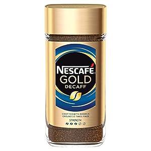 NESCAFÉ GOLD BLEND Decaffeinated Instant Coffee Jar, 200 g (Pack of 6)