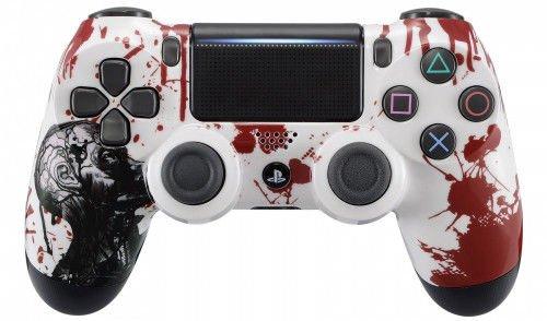 Zombie PS4Pro Rapid Fire Custom Modding Controller 40Mods für Alle Shooter Spiele, automatischer Ziel, Schnelle Scope Sniper Atem, fortnite (cuh-zct2u) -