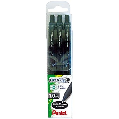 Pentel BL110 Roller Gel Energel X 1.0, Nero