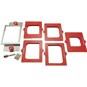 Ryobi A99HT2 Door Hinge Installation Kit/Mortiser Template (Measured ...