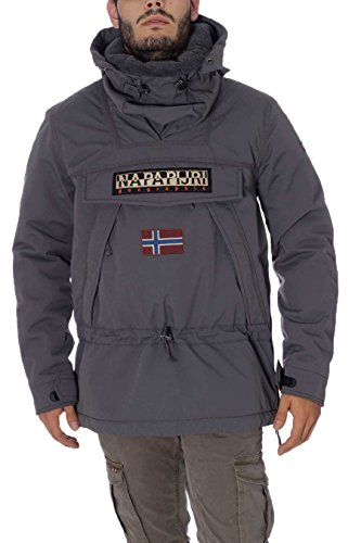 Giubbotto Uomo Napapijri N0Y7ZB Dark Grey Solid Autunno/Inverno Dark Grey Solid L