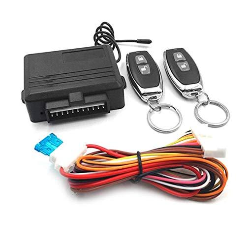 Universal sans clé Système d'entrée de voiture Systèmes d'alarme à distance automatique Dispositif de commande Kit de verrouillage de porte du véhicule de verrouillage central et déverrouiller