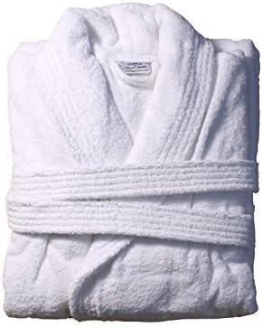 Blanco Otterman albornoz 100% algodón turco, 500g/m² pesado
