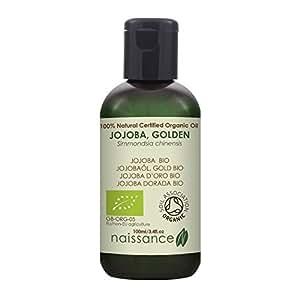 Naissance Huile Végétale de Jojoba Dorée Certifiée BIO 100% naturelle - 100ml