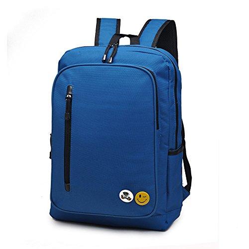270599fffca8 Casual Travel Backpack School Backpack Waterproof Laptop Backpack Unisex  (blue)