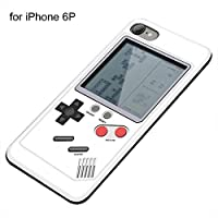 Worthititit Phone Cover&Retro Tetris Game Console Phone Case Cover for iPhone 6 6S 7 8 Plus X XS Max Fashion Phone Protective Cover Shockproof Anti-Slip Anti-Fall