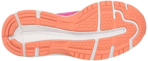 Asics Gel-Nimbus 19 Gs, Chaussures de Tennis Mixte Enfant Rose (Pink Glow/coral Pink/pale Pink)