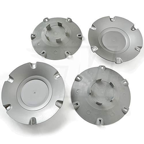 MYBA-S Lot de 4 Cache-moyeux pour moyeu 54 mm / 47 mm