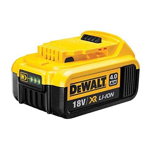 DeWalt Ersatz-Akku 18,0 Volt/ 4,0 Ah XR Li-Ion (kompatibel mit allen 18,0 Volt XR Akku-Maschinen von DeWalt, LED Akku Ladestandsanzeige), DCB182 (18v Lithium-ionen-akku Dewalt)
