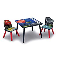 Delta Children Disney Cars Table And Chair Set, Df89581Cr
