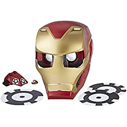 Marvel Avengers - Hero Vision Iron Man Realidad Aumentada, Talla única (Hasbro E0849175)