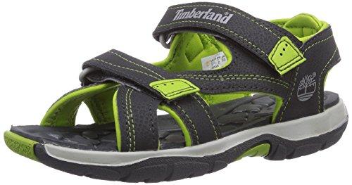 Timberland  Mad River 2-strap Sandal,  Unisex Erwachsene Outdoor-Sandalen  , grau - Dunkelgrau/Grün - Größe: 37.5 EU (Erwachsene 2 Sportschuhe)