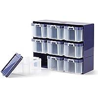 Prym Organizer 9 Boxen, Mehrfarbig, Einheitsgröße