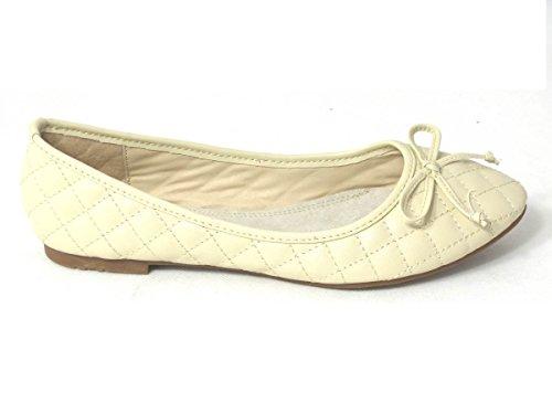 SKO'S , Chaussures plates fille femme Beige (101-1)