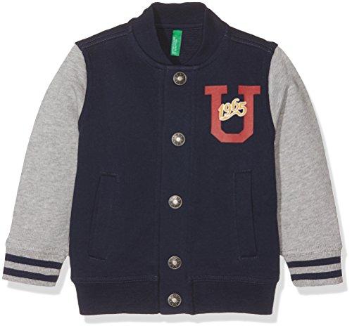 United Colors of Benetton 3JD7C5193, Felpa Bambino, Blu (Navy), 3-4 anni (Taglia Produttore: XX)