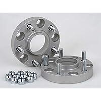 Spurverbreiterung Aluminium 4 St/ück 25//60 mm pro Scheibe // 50//60 mm pro Achse T/ÜV-Teilegutachten inkl