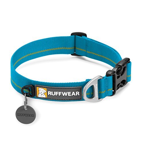 Ruffwear 25202-450S Hoopie Collar Hundehalsband, Baja blau - Uni, S (Leder Baja)