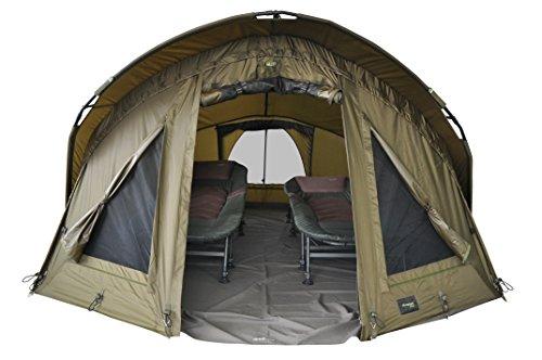 """MK-Angelsport """"Fort Knox Air 2 Man Dome Zelt Karpfenzelt Angelzelt Incl. Gummihammer"""