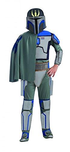 Original Lizenz Star Wars Pre Vizsla Kinderkostüm - Größe ca. (Boba Kinder Für Kostüme Fett)