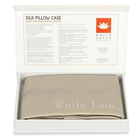 White Lotus Anti Aging- en soie anti-âge- Une unité, coloris