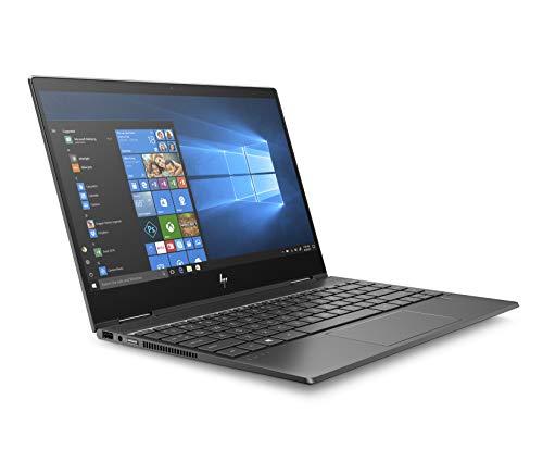 HP Envy x360 13-ar0000ns - Ordenador portátil convertible táctil de 13.3' FullHD (AMD Ryzen 5-3500U, 8GB RAM, 256GB SSD, AMD Radeon Vega 8, Windows 10) negro noche - Teclado QWERTY Español