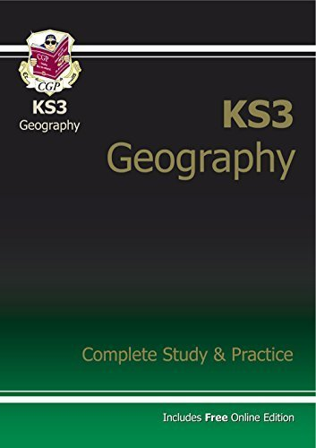 KS3 Geography Complete Study & Practice (with online edition) by CGP Books (2014-06-27)
