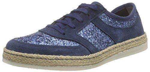 Tamaris Damen 1-1-23670-36 885 Sneaker, Blau (ROYAL GL. Comb), 37 EU