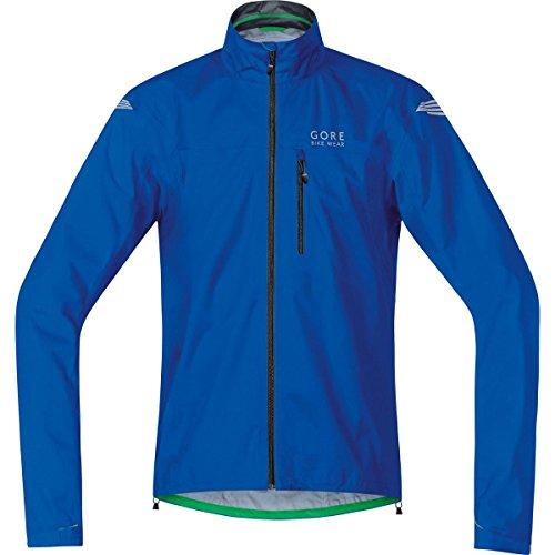 GORE BIKE WEAR Herren Regen-Fahrradjacke, Super Leicht, GORE-TEX Active, ELEMENT GT AS Jacket, Größe: M, Blau, JGELEA